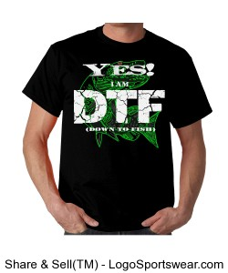DTF Down to Fish T-Shirt (Adult) Design Zoom
